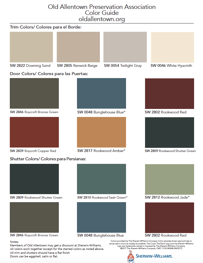 Oapa Façade Paint Color Guide Is Here